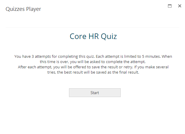Lanteria Quizzes - Updated Quizz Player