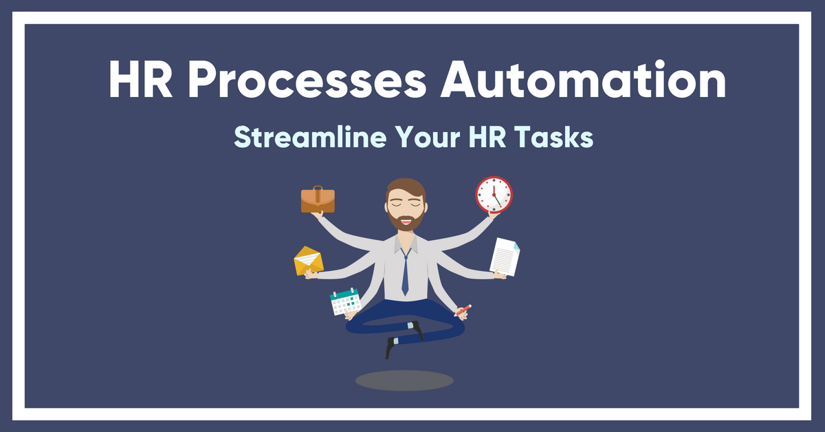 HR processes automation