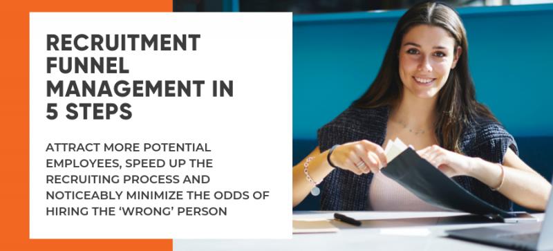 Recruitment funnel in 5 steps