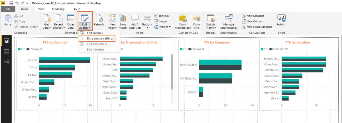 Lanteria HR - Power BI Integration.