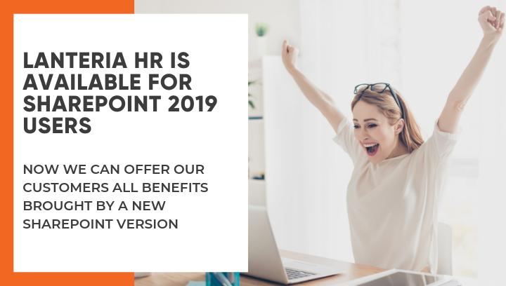 Lanteria HR management system for SharePoint 2019