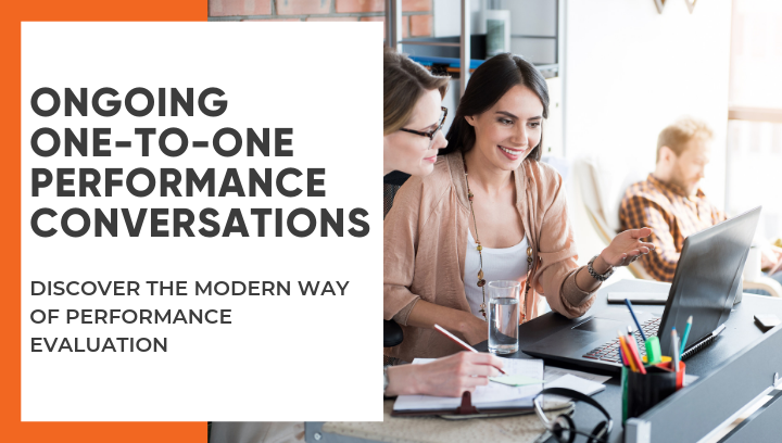 Check-ins - ongoing one-to-one performance conversations