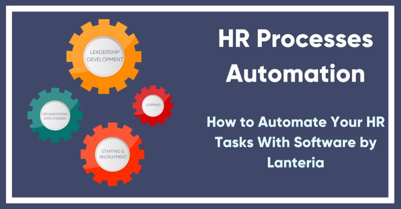 HR processes automation