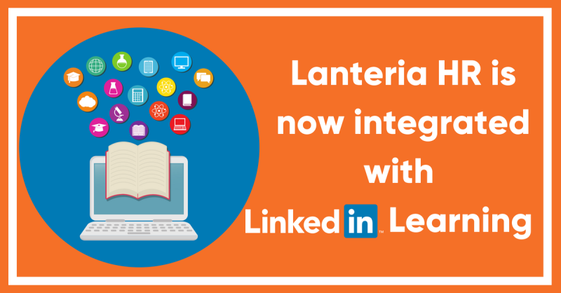 Lanteria HR integrates with LinkedIn Learning