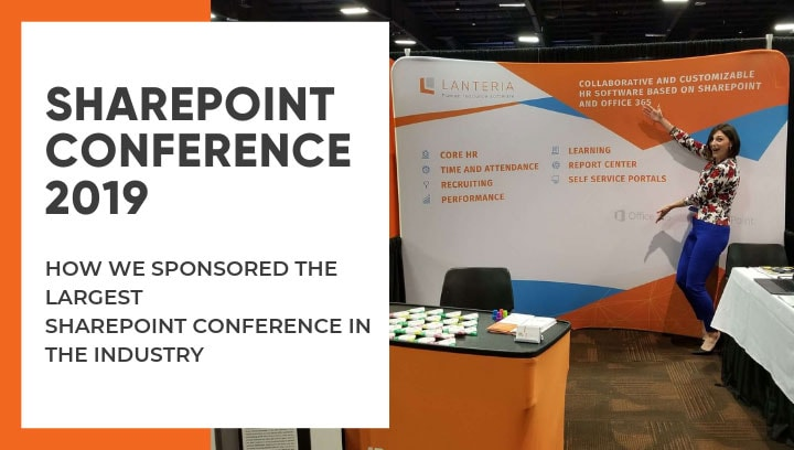 Lanteria HR sponsored the SharePoint Conference in Las Vegas