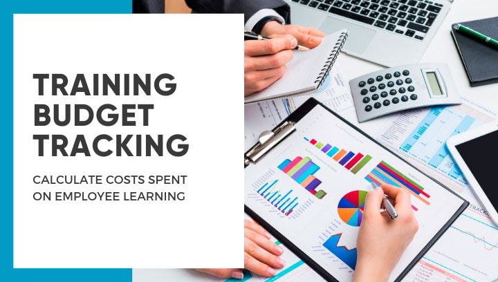 Tracking costs spent on employee learning