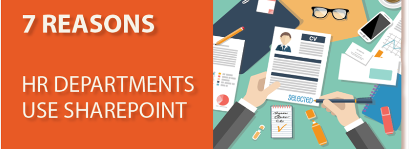 7 reasons HR departments use SharePoint