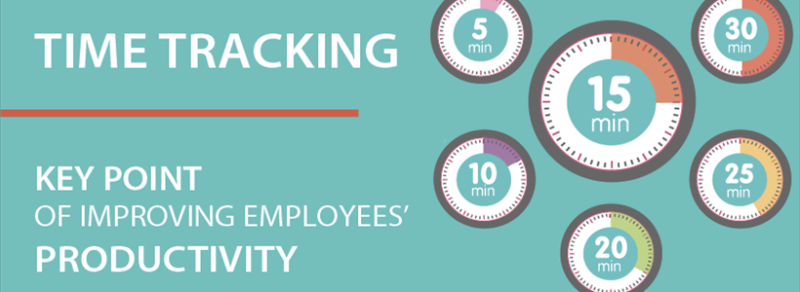 Time tracking is a key point of improving your employees' productivity