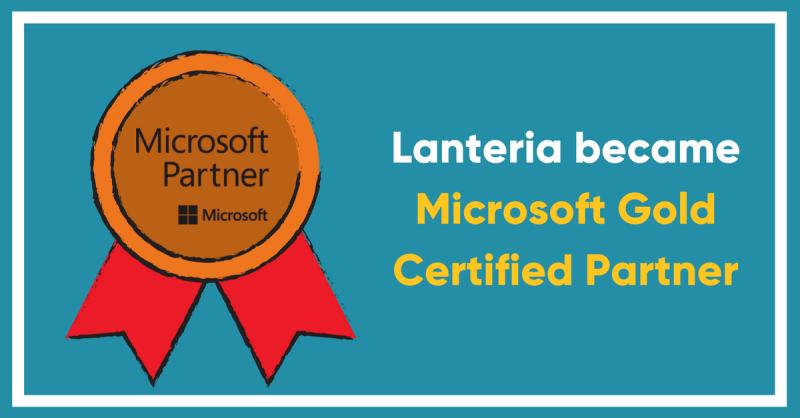 Lanteria Microsoft Gold Partner