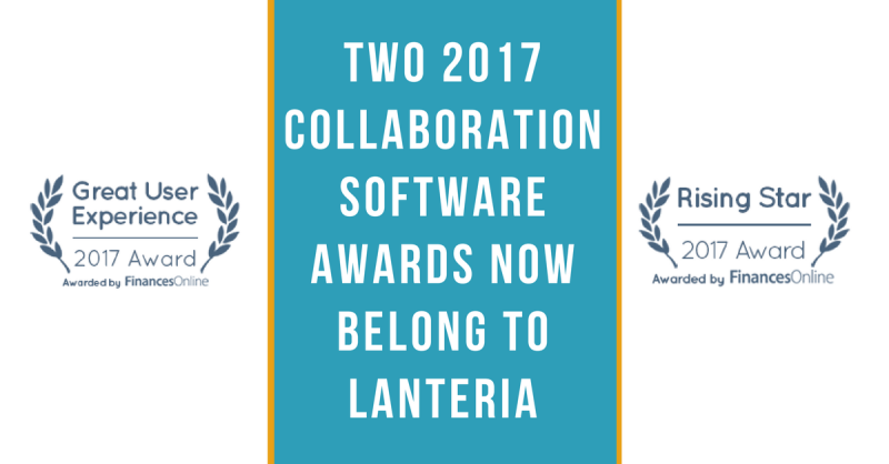 Lanteria HR received Great User Experience and Rising Star awards