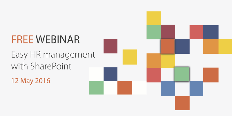 Free Webinar HR with SharePoint