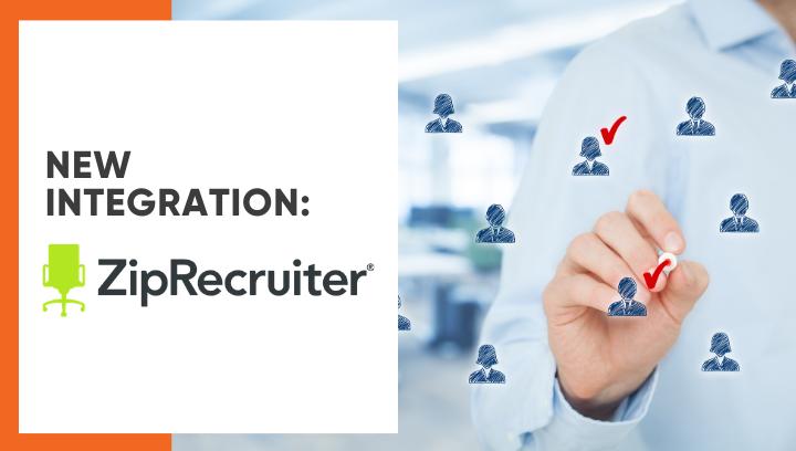 Lanteria HR integrates with ZipRecruiter