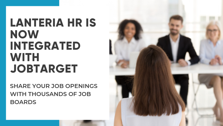 Lanteria HR integration with JobTarget