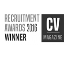Recruitment Awards Winner 2016 (from CV Magazine)