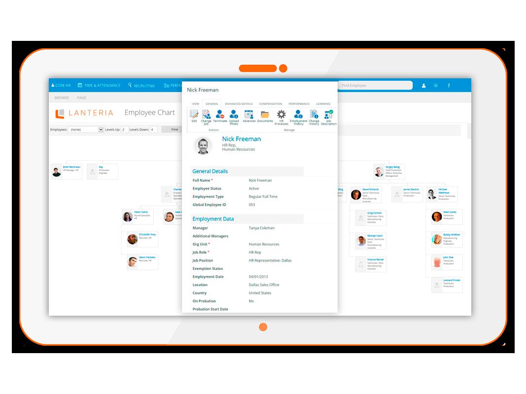 SharePoint document management by Lanteria - Core HR HRIS