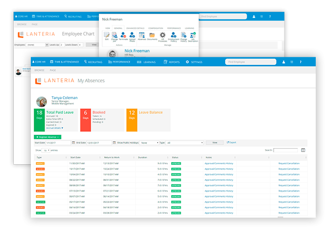 Lanteria HR solutions: HR Management System | SharePoint HR Software